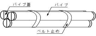 並列パイプ浮式